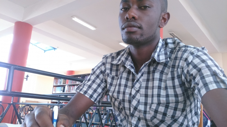 Githuka Mike: Study time @ Kenyatta University Post Modern Library